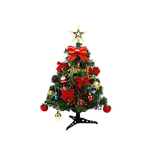 albero di natale 45 cm JYCAR - Mini albero di Natale da tavolo