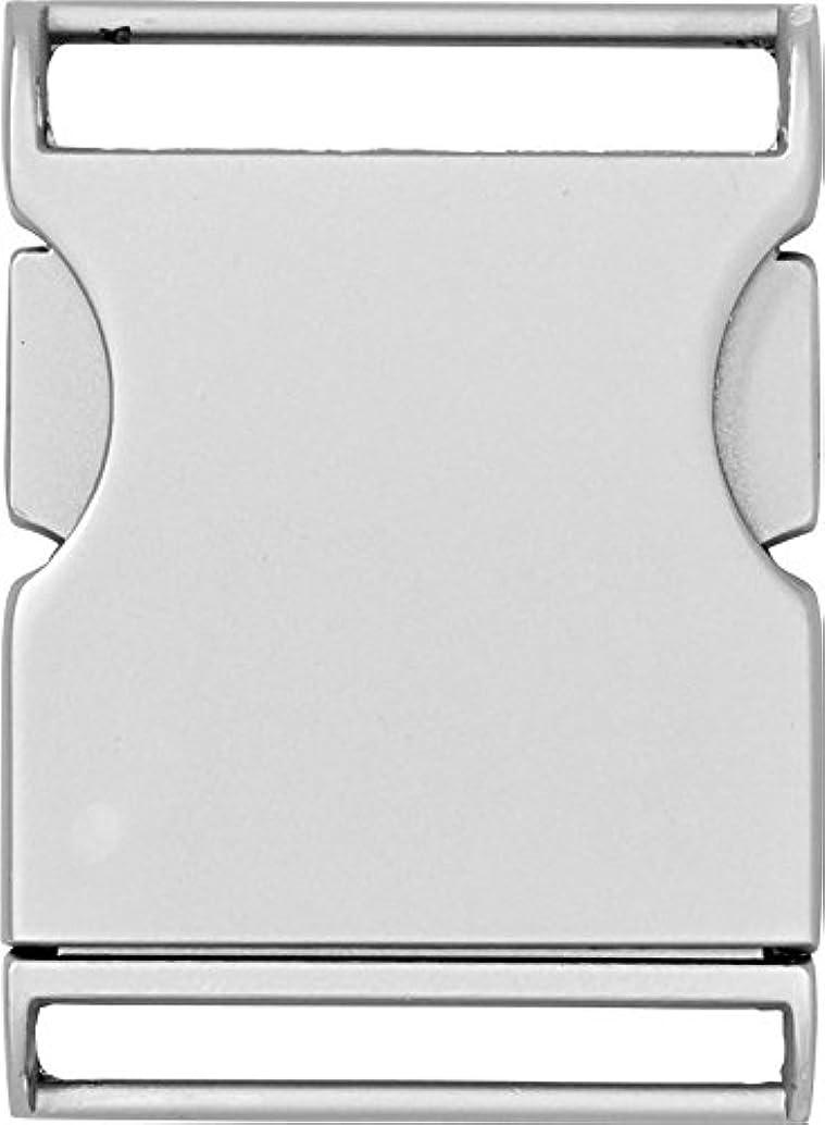 PRYM Matt Silver-Coloured 30mm Belt Buckle (1pc), Metal, 9.5 x 6 x 1.2 cm