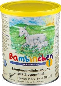 Bambinchen 1 Säuglingsmilchnahrung, von Geburt an, 4er Pack (4 x 400g)