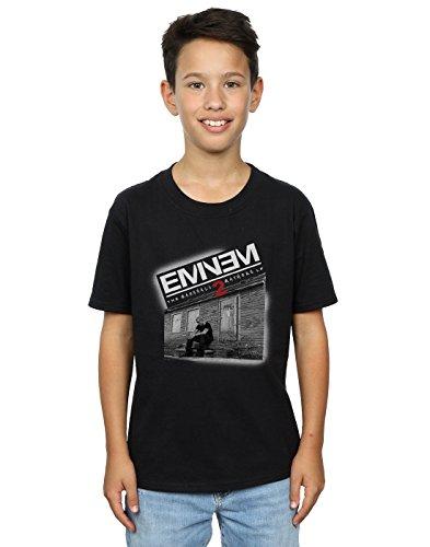 Eminem Jungen Marshall Mathers 2 T-Shirt 9-11 Years Schwarz