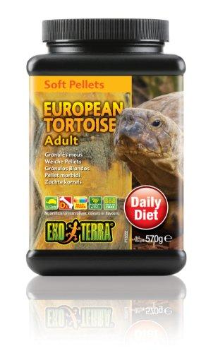 Exo Terra Soft Pellets Futter für erwachsene Schildkröten 570g