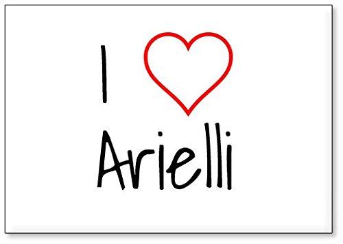 I Love Arielli, fridge magnet (design 1)