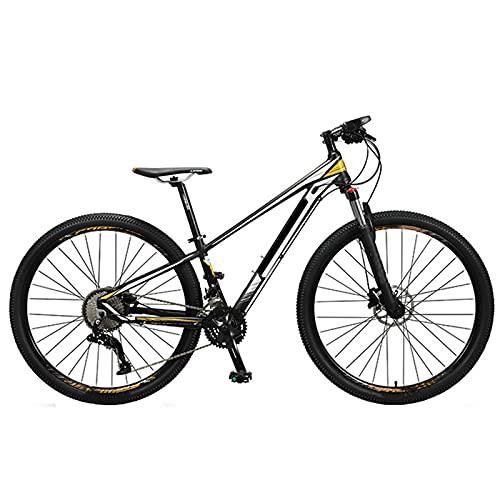 KJWXSGMM Mountainbike, 29 Zoll Erwachsene Mountainbike Aluminiumrahmen Fahrrad Doppelscheibenbremse 36 Geschwindigkeit Vorderseite Suspension Fahrrad,B,36 Speed