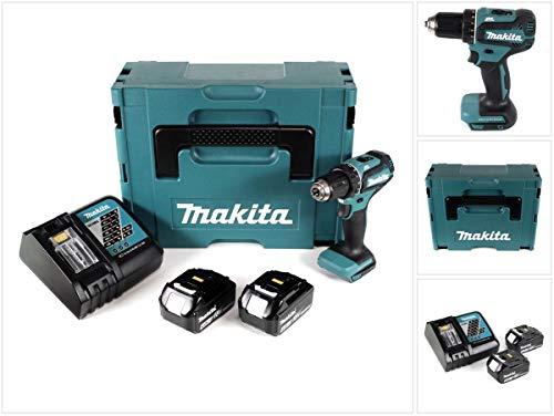 Makita DDF485RFJ Akku-Bohrschrauber 18 V mit 2x Akku 3,0 Ah + Ladegerät im MAKPAC