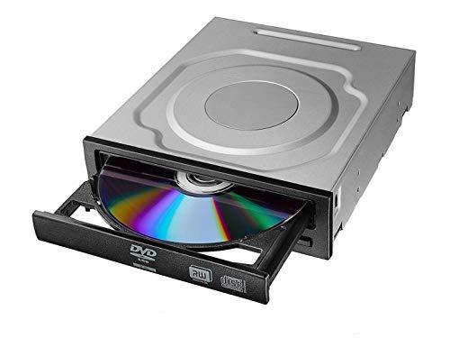 OSGEAR Interner Laufwerk Brenner DVD RW SATA Desktop PC 24x DVD 56x CD ROM Eingebautes DVD optisches Laufwerk Gerätefach Laden Leser Brenner Unterstützung Windows XP 7 8 10