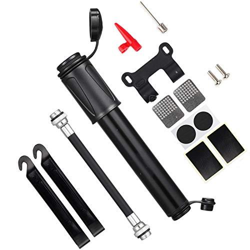 MEKEET Bike Pump,Bicycle Pump with Glueless Patch Kit/Ball Needles /Frame...