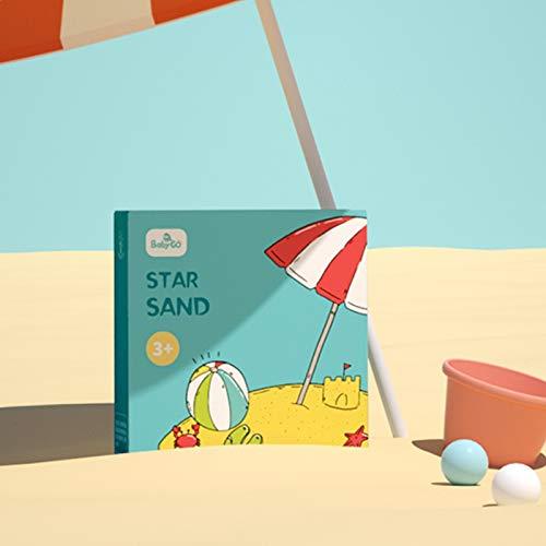 JKMQA Babygo Suave Silicona Playa Juguete para niños Cubo Herramienta rastrillo Reloj de Arena al Aire Libre Juego Arena Herramienta Conjunto niños bebé baño Juguete (Color : Play Sand)