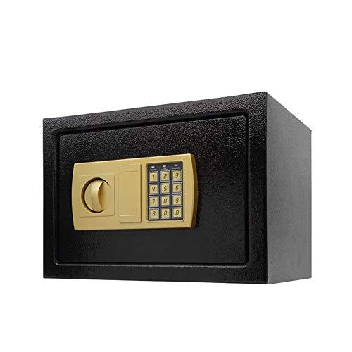 GGDJFN Caja Fuerte electrónica Inicio Digitales Dinero Seguro tecla Buzón litros Cajas de Seguridad joyería Efectivo Pistola Box for el hogar, Oficina, Caja de Seguridad Digital -35 * 25 * 25cm