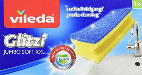 Vileda Glitzi Jumbo Sanft Reinigungsschwamm (1 Stück)