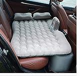 KJLM Viaggio Materasso Gonfiabile Sedile Posteriore Materasso per Auto Universale Cuscino Floccato materassino da Campeggio per Bambini (Grigio)