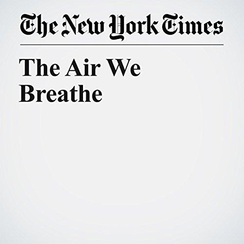 The Air We Breathe copertina
