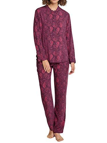 Schiesser - nachtkleding - pyjama lang - braambes