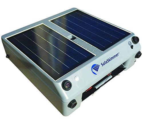 Great Features Of SolaSkimmer – Automatic Pool Cleaner That's Solar Powered – Pool Skimmer Tha...