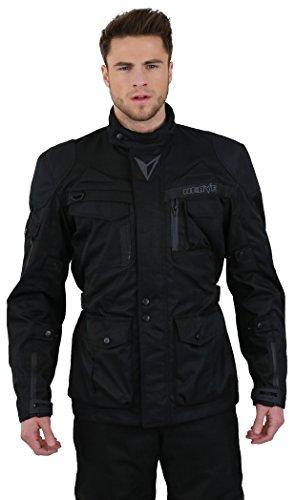Nerve Long Rider B Motorradjacke, Schwarz, XL
