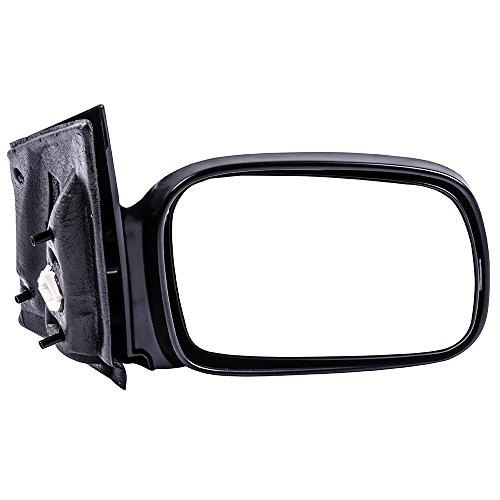 SCITOO Espejo retrovisor lateral para lado del pasajero, compatible con Honda Civic DX-G Coupe de 2…