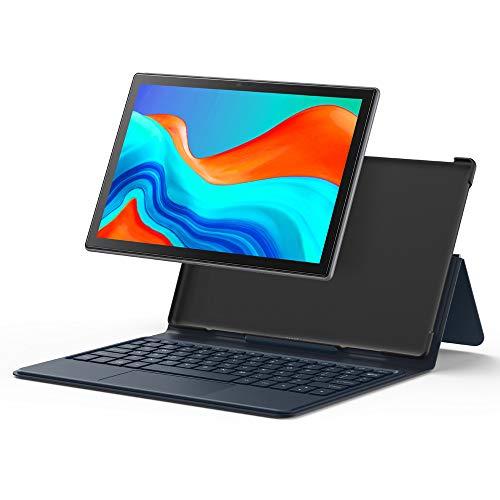 tablet Android Pantalla Ultra Clara de 10 Pulgadas Cámaras HD Frontal y Trasera Procesador de 8 núcleos Altavoces estéreo de 64GB Batería Grande Inteligente