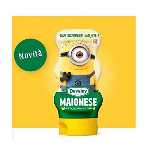 Maionese Develey Mc Donald's 250 ml 100% ingredienti naturali senza glutine uova da allevamento a terra