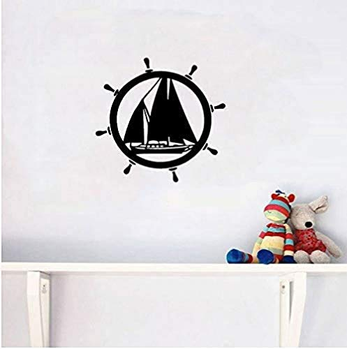 Muurstickers Art Decal Vinyl Murals kajakken kano-poort Itting kamer de slaapkamer extreme beweging 56X54cm