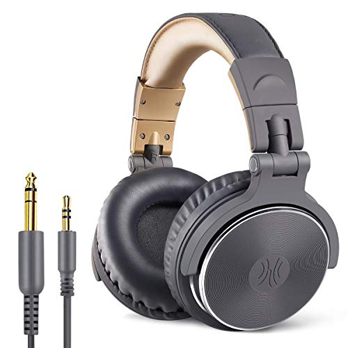 OneOdio Over Ear Headphones Closed Back Studio DJ Headphones for Monitoring...