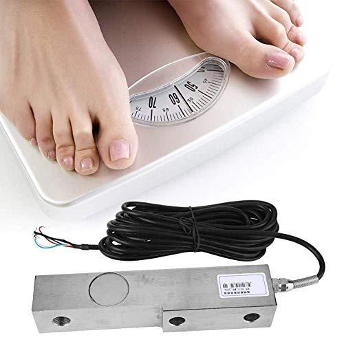 LQH Wägezelle Sensor, Einzelscherstab Wägesensors mit geschirmten Kabel for Waage Elektronische Waagen Gewicht Präzisionsmess 1000kg