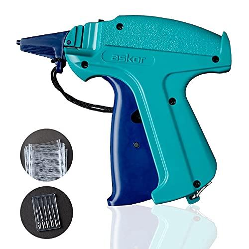 Tagging Gun for Clothing (2000pcs Barbs, 6 Metal Needles & Organizer Bag)   Boutique Supplies Price Tag Gun Kit for Clothes