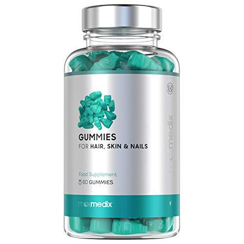 Gummies Integratore Vitaminico con Biotina e Zinco per...