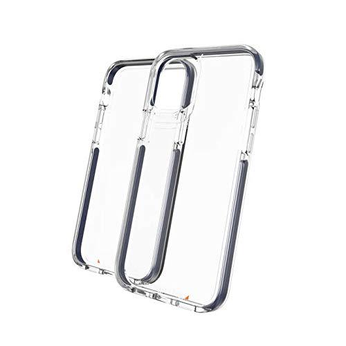 Gear4 Piccadilly – Kompatibel mit iPhone 12 Pro, iPhone 12 – Fortschrittlicher Aufprallschutz mit integrierter D3O-Technologie, Anti-Vergilbung, Handy-Cover – Blau