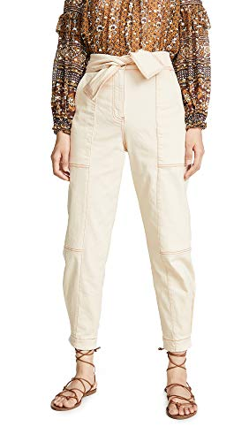 Ulla Johnson Women's Storm Jeans, Blanc, 8