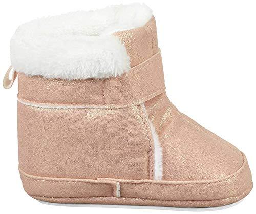 Sterntaler Mädchen Baby Stiefel mit Klettverschluss, Farbe: Rosa, Größe: 21/22, Alter: 18-24 Monate, Artikel-Nr.: 5301808