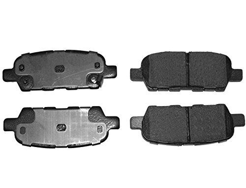 Preisvergleich Produktbild Blue Print ADN142137 Bremsbelagsatz (hinten,  4 Bremsbeläge)