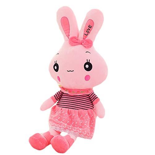 Juguete de peluche gigante de conejo para bebé, almohada rosa, cojines de muñecas, grandes cojines, abrazaderas, juguetes, juguetes, juguetes para niños y niñas