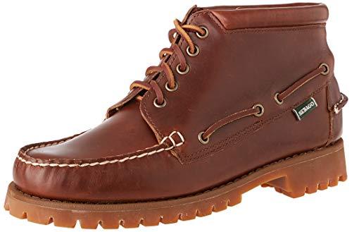 Sebago Herren Ranger MID Waxy Kurzschaft Stiefel, Braun Gum 925, 45 EU