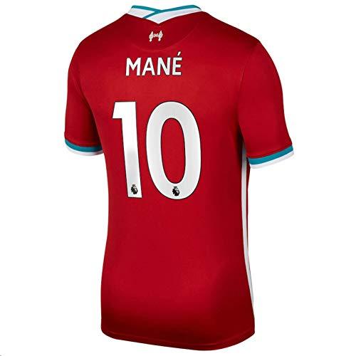 2020-2021 Men's Home Soccer Jersey/Short Colour Red (Liverpool Mané #10 (S))