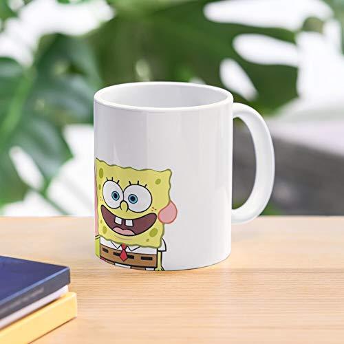 5TheWay Mug Forever Spongebob Best Friends - Bestes 11 Unze-Keramik-Kaffeetasse Geschenk