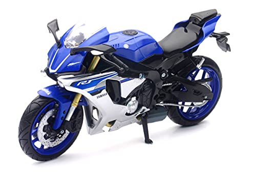 NewRay- 1:12 Yamaha YZF-R1 2016, Colore Blu, 57804