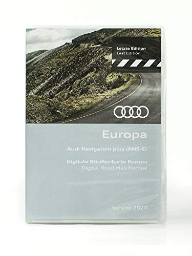 Navigationssoftware Europa Version 2020 für Audi auf DVD