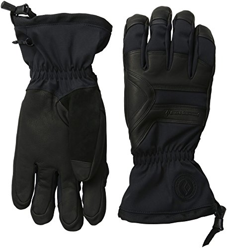 Black Diamond Men's Patrol Gloves, Black, Large