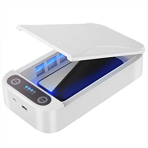 4beauty Healthgenic Portable UVC UV Sterilizer Cabinet Sterilization Machine Box for Mobile Phone (White)