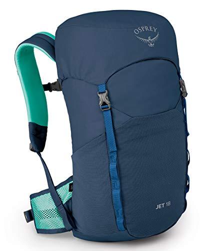 Jet 18 Kid's Hiking Backpack, Wave Blue