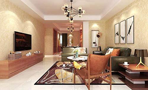 Behang vliesbehang textuur lichtgeel vlies 3D fotobehang volledig minimalistische ontwerpen voor woonkamer slaapkamer Art Deco 0,53x10m