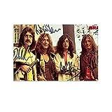 BAIQUE Led Zeppelin 9 - Póster de lienzo y pared con impresión moderna para dormitorio familiar (20 x 30 cm)