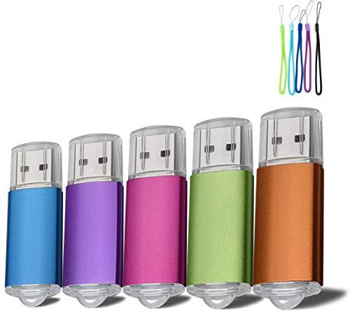 5pcs 16 G Pen Drive de disco de memoria USB Flash Drive...