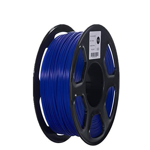 YANGDONG Eine Vielzahl Von Farben, 1kg Toleranz: 1,75 Mm +/- 0,02 Mm ABS/PLA-Filament 3D-Druck, Für 3D-Druckerfilament-PLA, 3D-Druckstifte (Color : PLA Fluo Blue)