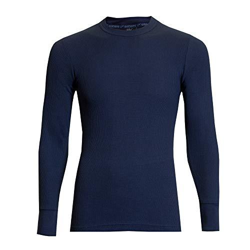 WATSONS Watson's Herren Unterhemd, Waffel, Marineblau, S