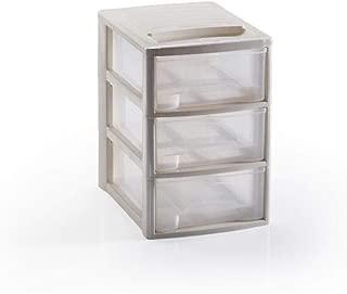 Cassettiere Plastica Per Minuterie.4 Cassetti Takestop Cassettiera Contenitore Cassetti Beige A5 In