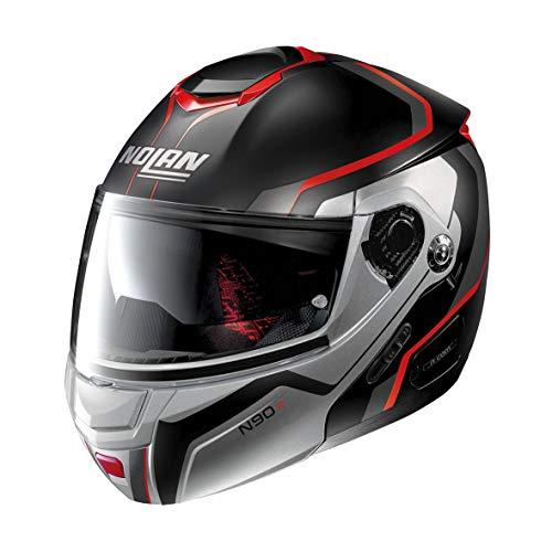 Nolan Herren N90-2 Helmet, Flat Black, S