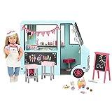 Our Generation 44487 OG Ice Cream Truck Eiswagen, blau -