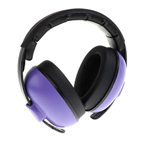 Tongina Ear Muffs for Kids Baby Ear Defenders Newborn to 5 Years - Purple
