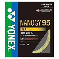 YONEX(ヨネックス) バドミントン ナノジー95 フラッシュイエロー NBG95-557