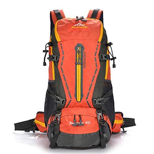 Trekking Randonnée Camping pour Homme Femme Grande capacité Sac à Dos de Voyage Nouveau Sac à Dos Plein air Professionnel Alpinisme Sac à Dos Hommes 50L Voyage Vert